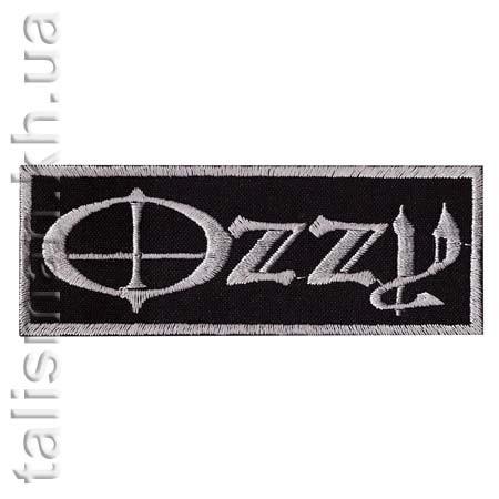 Нашивка с вышивкой OZZY OSBOURNE-1 Ozzy