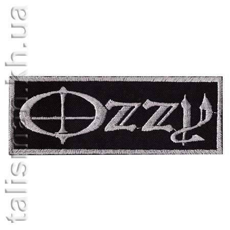 Нашивка с вышивкой OZZY OSBOURNE-1 Ozzy, фото 2