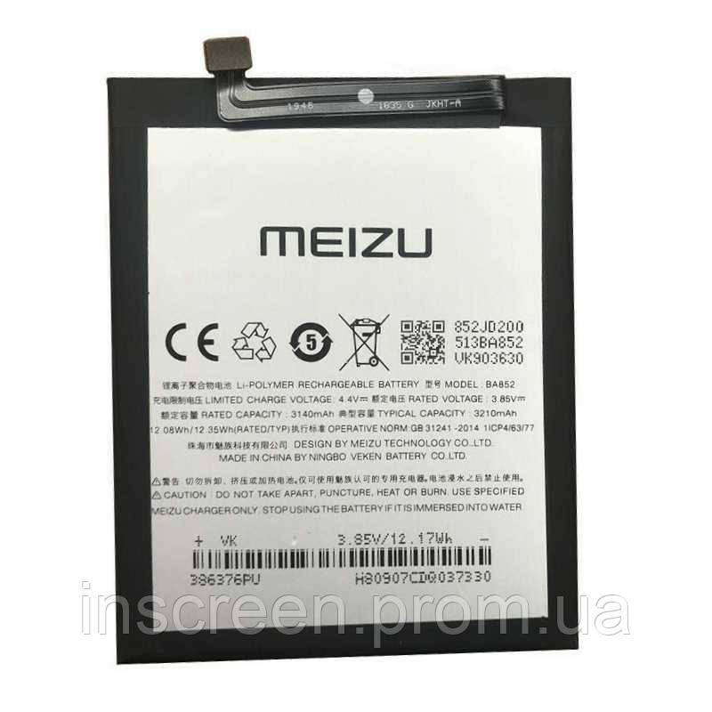 Акумулятор Meizu BA852 для Meizu X8, Meizu 8X 3210 mAh, фото 2