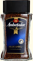 """Кофе растворимый """"Ambassador"""" Blue label с/б 190г"""