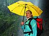 Практичный механический зонт-трость EuroSCHIRM Swing W2U69060/SU18179 синий, фото 6