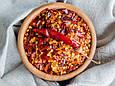 Перец чили хлопья, дробленный 3-3 мм (с семенами), сушеный перец чили крупного помола 10 кг, PL, фото 3