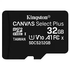 Карта памяти KINGSTON microSDHC 32GB UHS-I U1 Canvas Select Plus (SDCS/32GB)