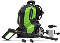 Мини мойка аппарат высокого давления для авто автосервиса гаража Greenworks G50