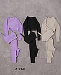 Жіночий спортивний костюм - трійка, турецька двунить, р-р 42-44; 44-46 (вибір кольору), фото 5