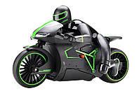 Мотоцикл радіокерований 1:12 Crazon 333-MT01 (зелений), фото 1