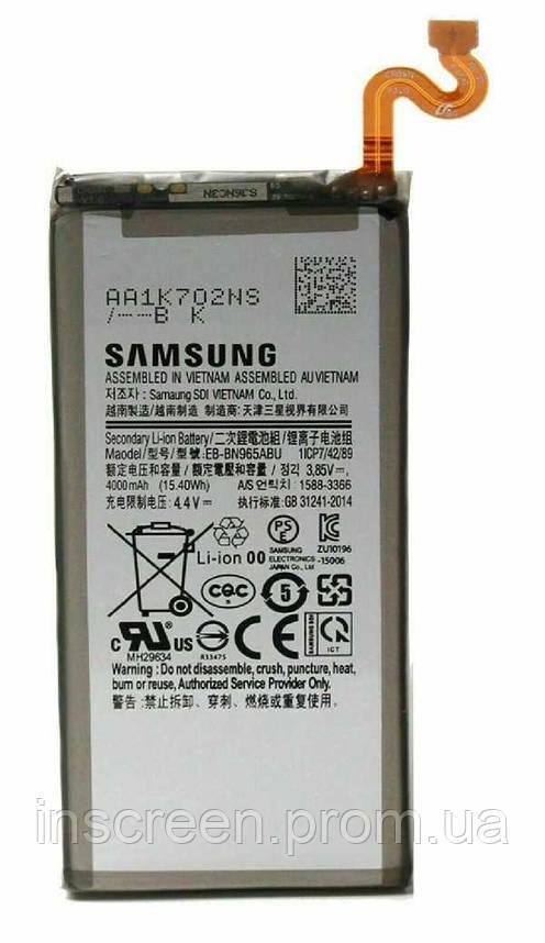 Акумулятор Samsung EB-BN965ABU для N960 Galaxy Note 9 4000 mAh, фото 2