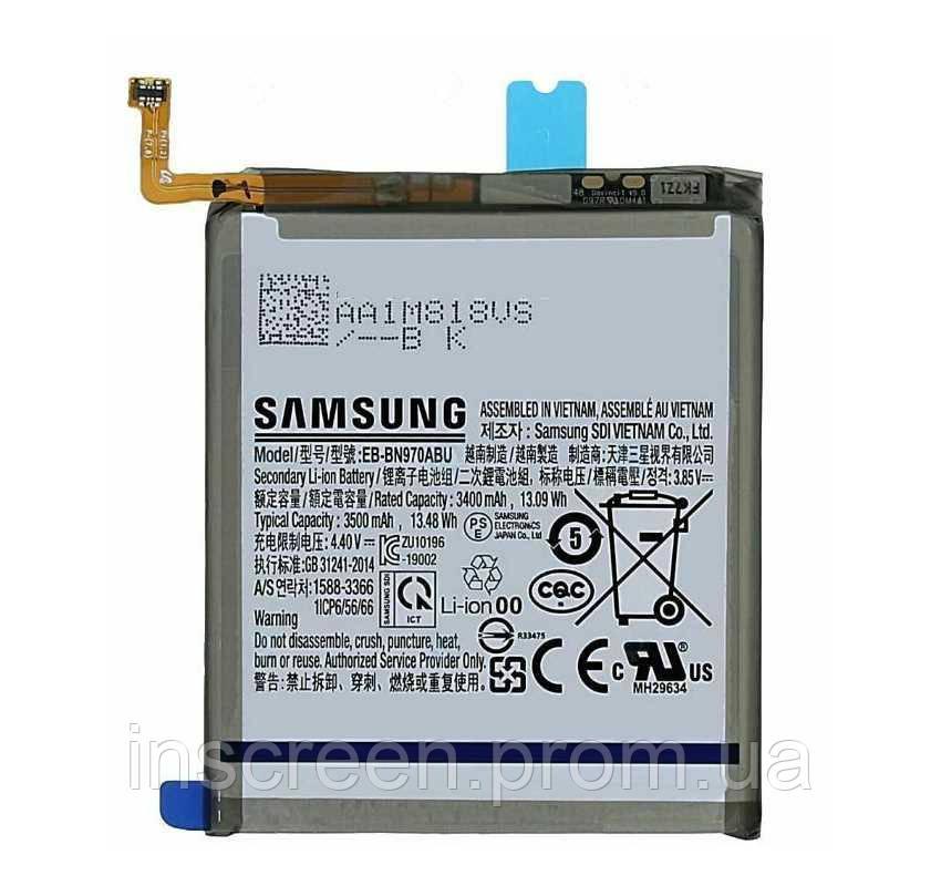 Акумулятор Samsung EB-BN970ABU для N970 Galaxy Note 10 3500 mAh, фото 2