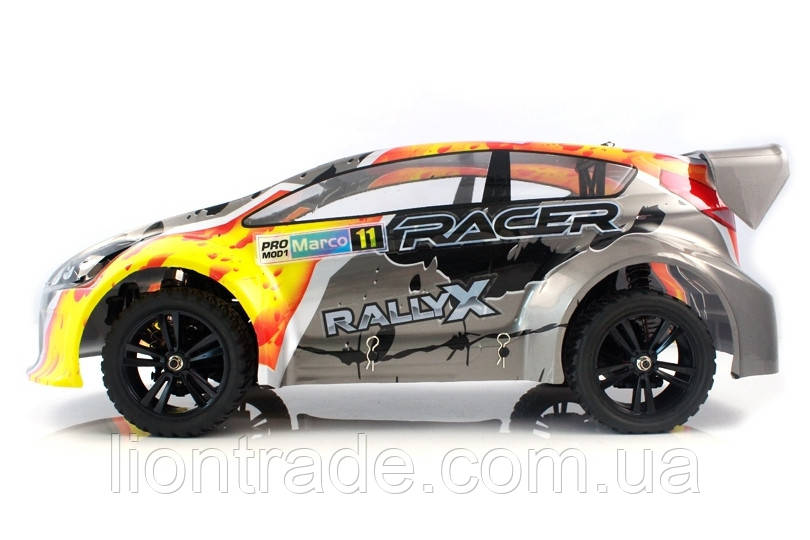 Радіокерована модель Ралі 1:10 Himoto RallyX E10XRL (сірий)