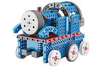 Конструктор STEM электронный HIQ B722 2-в-1 150 деталей сенсорный (машинка, поезд), фото 1