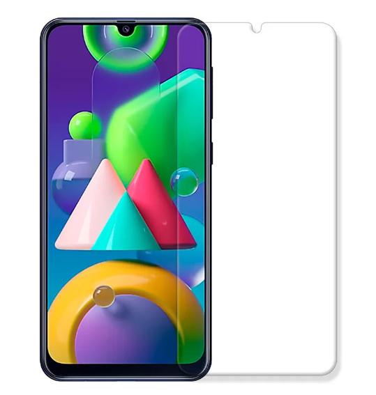 Гідрогелева захисна плівка на AURORA AAA Samsung Galaxy M21 на весь екран прозора