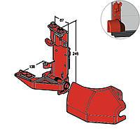 Кронштейн роликовий нижній Alutech RBI-45.100 L