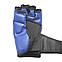 Перчатки для смешанных видов единоборств ММА кожвинил синие XL, BOXER, фото 3
