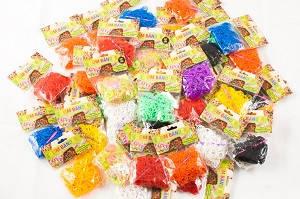 Резинки для плетения браслетов Loom bands 300