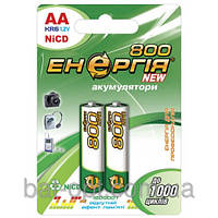 Аккумуляторная батарейка Энергия R06 800 mAh