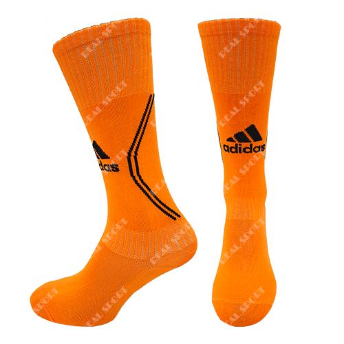 Гетры футбольные оранжевые Adidas AD-0194, р. 39-45