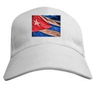 Летняя бейсболка унисекс, принт  Куба флаг