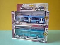Игрушка Троллейбус Автопарк  металлопластик, фото 1