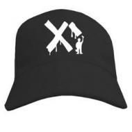 Прикольная молодёжная кепка летняя с печатью  Куесоска