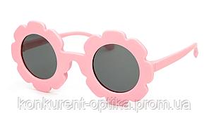 Очки в форме цветочка с поляризацией для детей солнцезащитные