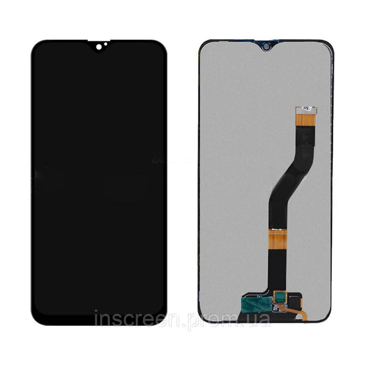Дисплейний модуль для Samsung A107F Galaxy A10s чорний (GH81-17482A) Оригінал