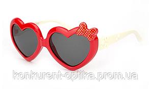 Солнцезащитные очки для детей  в форме сердца полароид