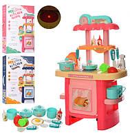 Кухня з набором посуду 3620-3622