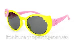 Солнцезащитные яркие очки для детей с цветком полароид