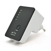 Підсилювач WiFi сигналу з вбудованою антеною LV-WR02В, живлення 220V, 300Mbps, IEEE 802.11 b / g / n, 2.4 GHz,