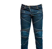Мотоштаны текстиль темно-синие size L