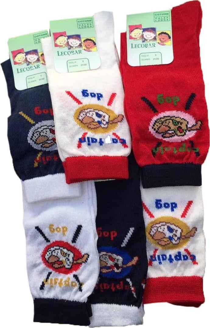 Шкарпетки дитячі LECOBAR Італія DOG 3202/2