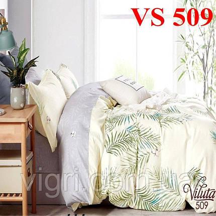 Постільна білизна євро комплект, сатин, Вилюта «Viluta» VS 509, фото 2