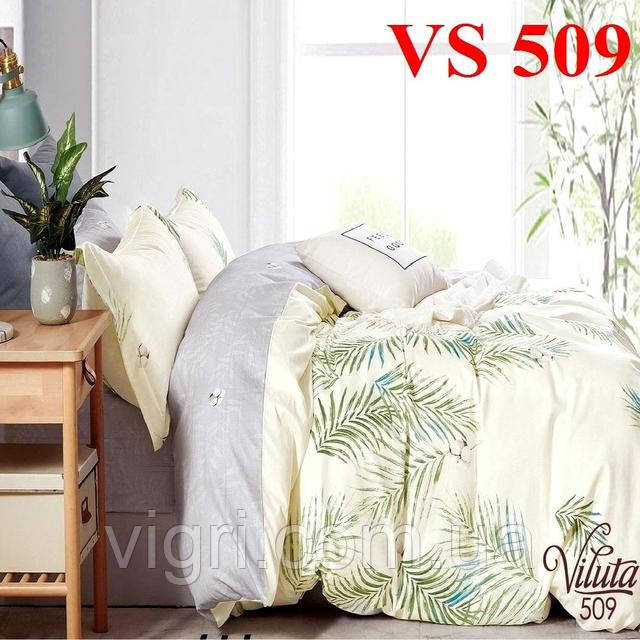 Постільна білизна євро комплект, сатин, Вилюта «Viluta» VS 509