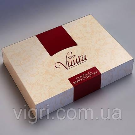 Постільна білизна євро комплект, сатин, Вилюта «Viluta» VS 490, фото 2