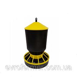 Годівниця бункерна для домашньої птиці, 10 кг