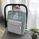 Рюкзак для девочки подростка школьный, водонепроницаемый в стиле Канкен, фото 2