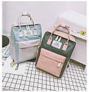 Рюкзак для девочки подростка школьный, водонепроницаемый в стиле Канкен, фото 10