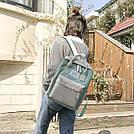 Рюкзак для девочки подростка школьный, водонепроницаемый в стиле Канкен, фото 5