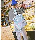 Рюкзак для девочки подростка школьный, водонепроницаемый в стиле Канкен, фото 7