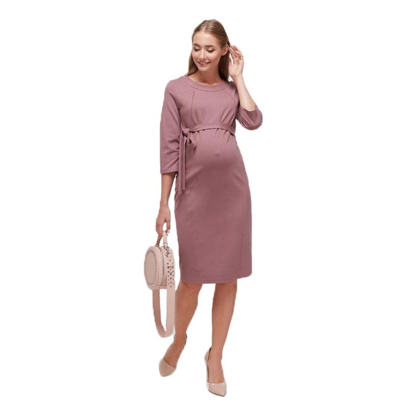 Плаття для вагітних і годуючих Isabelle ЮЛА МАМА (рожеве, розмір S)