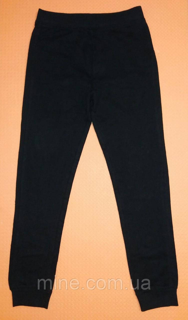Спортивные штаны для мальчика Piazza Italia черные р.152