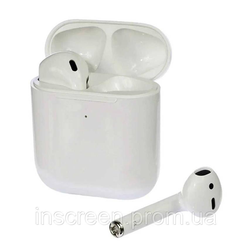 Беспроводные Bluetooth наушники TW-2025 TWS белые, фото 2