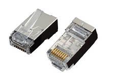 Конектор OK-net utp RJ-45 Кат.5e FTP, 50U упаковка 100 шт. ціна вказана за шт.