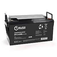 Аккумуляторная батарея EUROPOWER AGM EP12-65M6 12 V 65Ah ( 348 x 168 x 178) Black Q1