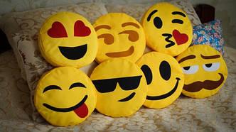 """Подушка-смайлик №80-""""Smile"""""""