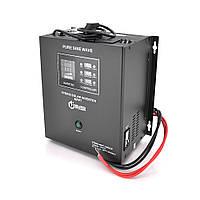 ДБЖ з правильним синусом Europower RTSWm-MPPT-1000LCD, 700W, 12V, ток заряду 20 / 40A, 140-275V, MPPT (20 /