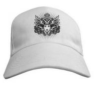 Прикольная молодёжная кепка летняя с печатью Лицо-геральдика