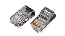 Конектор OK-net utp RJ-45 Кат.5e UTP 3U упаковка 100 шт. ціна вказана за шт.