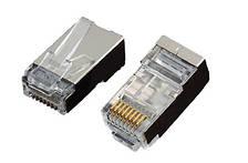 Конектор OK-net utp RJ-45 Кат.5e FTP 3U упаковка 100 шт. ціна вказана за шт.
