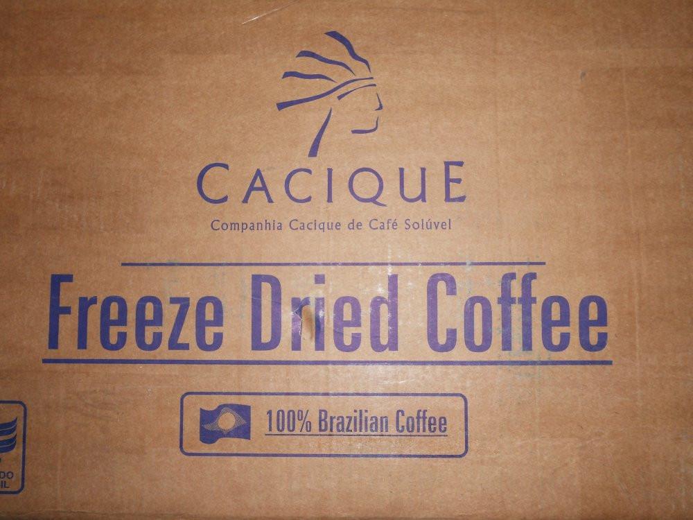 Кофе растворимый Касик Cacique, кофе сублимированный Касик Cacique вес 25 кг в ящике